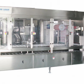 PREFORMED CUP FILLING SEALING MACHINE